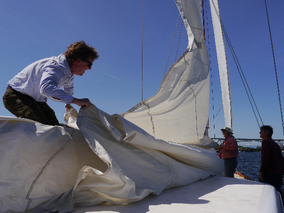 One of the things that needs to change about the sail handling. Yes, there are ways to address this.