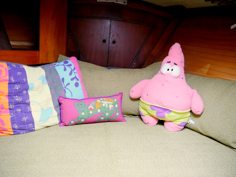 Patrick chillin in the Rumpus Room